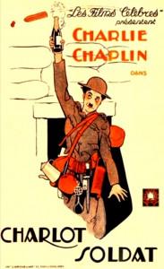 Charles Chaplin, Charlot soldat, 1918 CinéRI