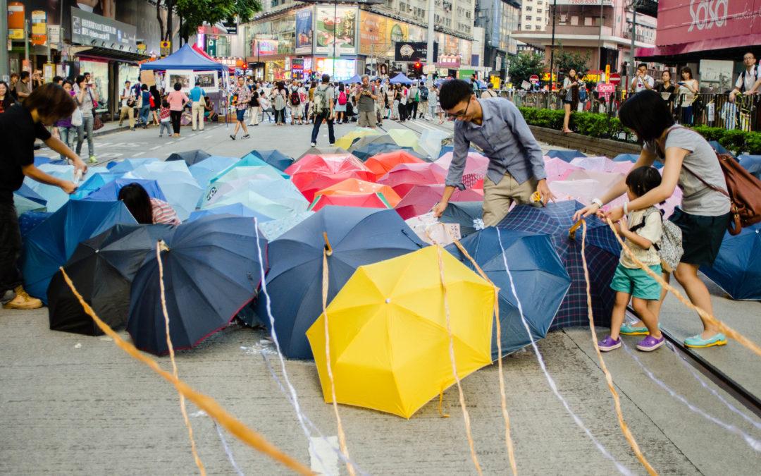 PAC 121 – El surgimiento de una ciudadanía transnacional La revolución de los paraguas, septiembre-diciembre 2014