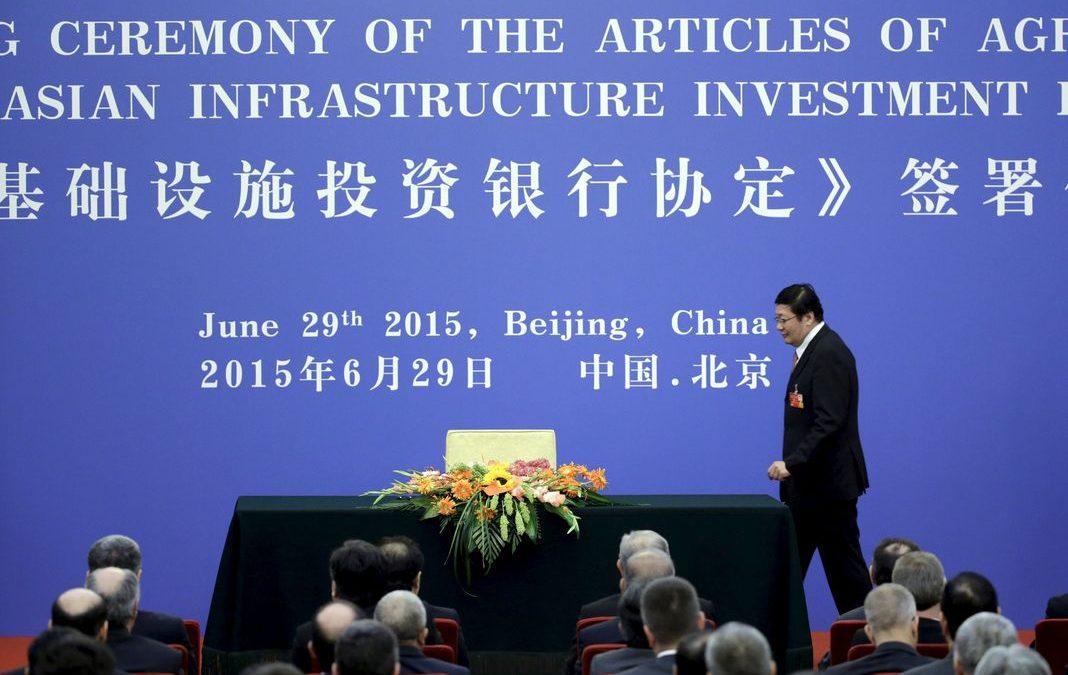 PAC 131 – Une banque multilatérale entre coopération et prédation La signature des statuts de la BAII
