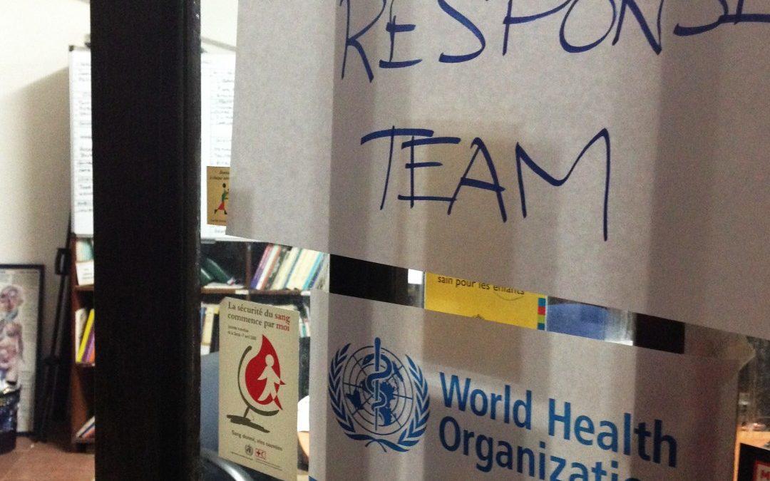 PAC 134 – Le redéploiement laborieux de l'OMS L'épidémie Ebola en Afrique occidentale