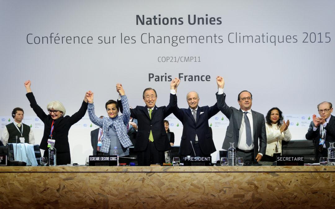 PAC 141 – Une ambition politique sans contraintes juridiques Bilan de la COP21