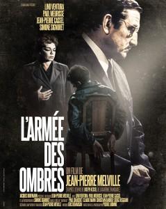 Jean-Pierre Melville, L'armée des ombres, 1969 CinéRI