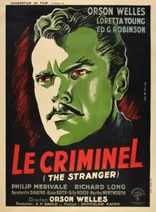 Orson Welles, Le criminel, 1946 CinéRI