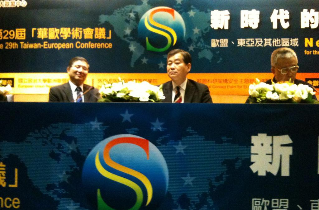 """29th Taiwan-European Conference: """"New Security for the New Era: EU, East Asia and Beyond"""" Taipei, 28-30 November 2012"""