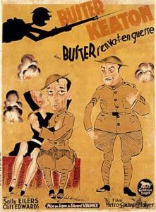 Buster Keaton, Edward Sedwick, Doughboys, 1930 CinéRI