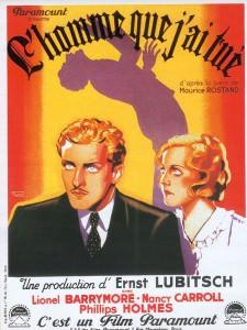 Ernst Lubitsch, L'homme que j'ai tué, 1932 CinéRI