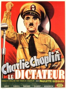 Charles Chaplin, Le dictateur, 1940 CinéRI