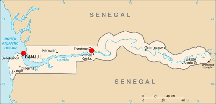 PAC 158 –  La Gambie en crise De la souveraineté formelle aux ingérences multiples